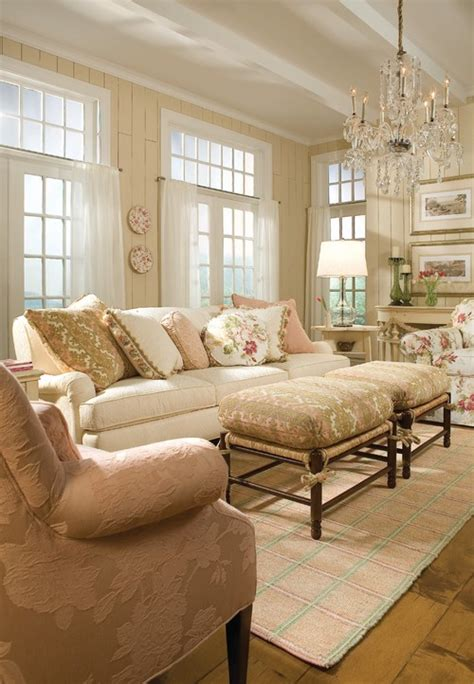 beautiful living rooms traditional a joyful cottage 35 cottage style living rooms that inspire