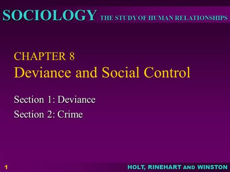 chapter 8 section 4 chapter 8 deviance and social control ppt video online