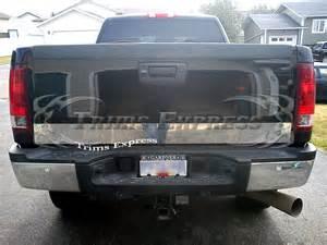 2007 2013 chevy silverado tailgate trim accent molding
