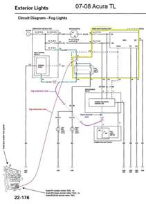 2002 acura rsx fog light wiring diagram acura wiring diagram