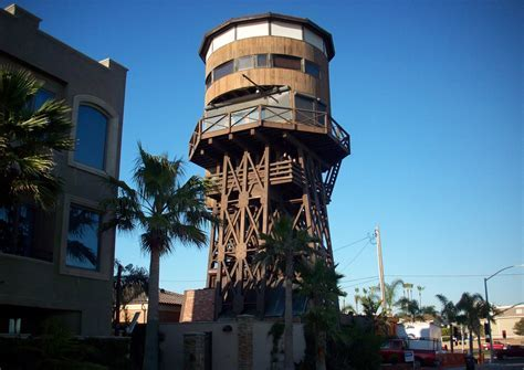 Surfside Water Tower, Seal Beach, CA   California Beaches