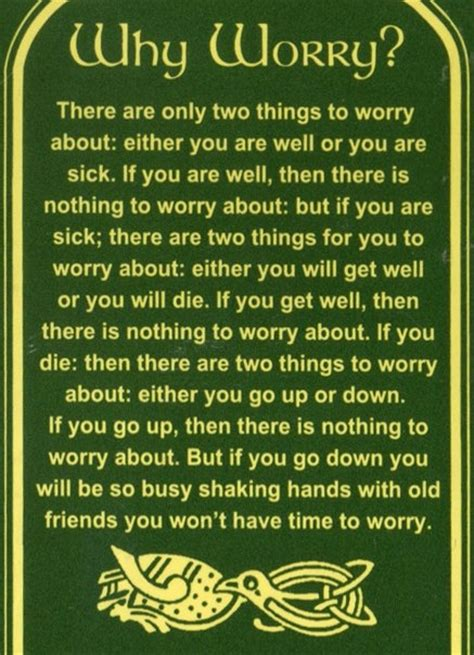 Why Worry why worry quotes quotesgram