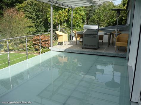 terrasse mit überdachung terrassengel 228 nder aus edelstahl jg edelstahlbau karlsruhe