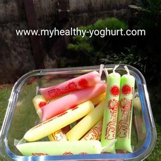 Yoghurt My Healthy Isi 30 Mini Stick produk my healthy yoghurt pt mutiara mandiri jaya