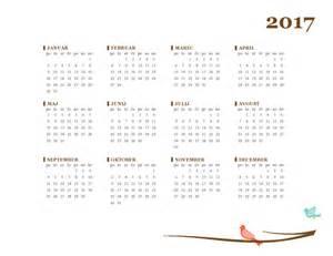 letni koledar za leto 2017 pon ned office templates