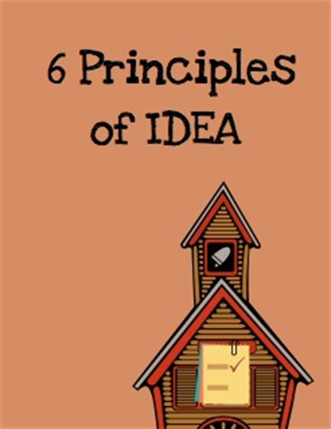 six principles of idea 6 principles of idea my storybook