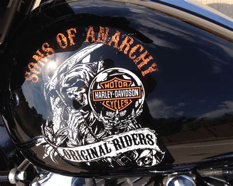 Harley Of Anarchy sons of anarchy 1of1 harley davidson 2014 glide