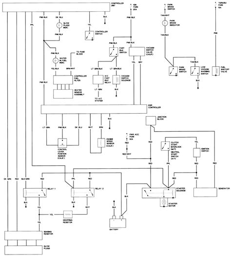 gmc jimmy wiring diagram wiring data
