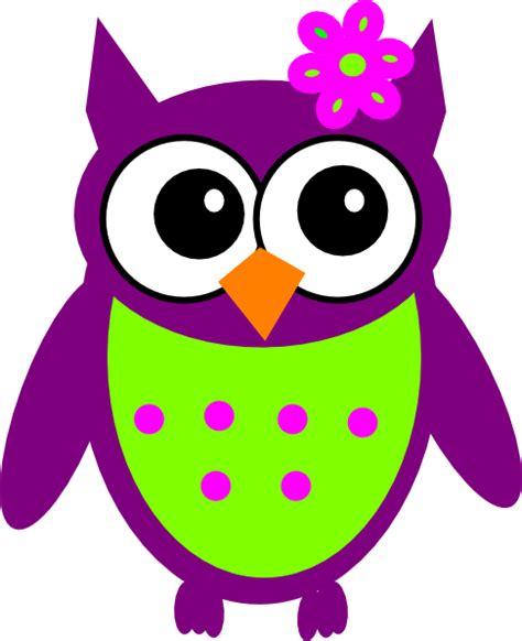 Owl Purple purple owl clip at clker vector clip