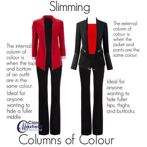 slimming colors slimming column of colour by claremaxfield on polyvore