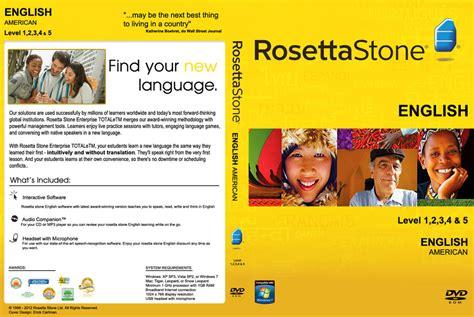 rosetta stone english free rosetta stone english american dvdcover custom by