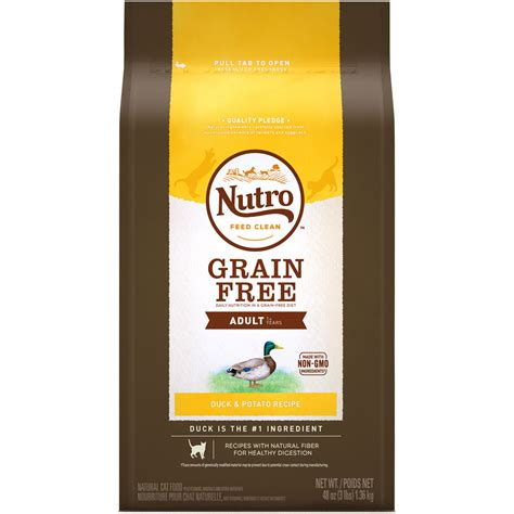 nutro choice food nutro choice grain free duck potato cat 3 lb