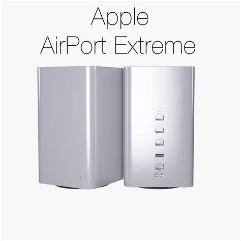 apple extreme apple airport extreme time capsule 2013 3d model max 3ds