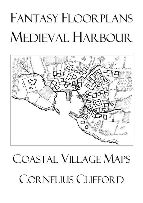 fantasy floor plans medieval harbour maps fantasy floorplans dreamworlds