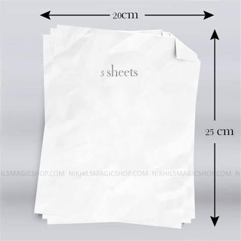 Flash Paper - flash paper magic trick
