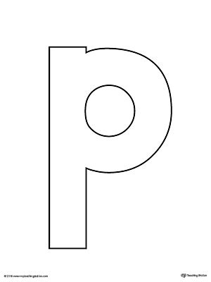 letter p template letter p scramble worksheet myteachingstation