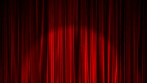 shiny curtains red curtains rustle above a shiny floor stock footage
