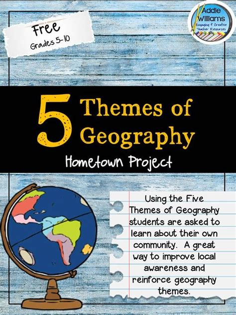 themes of geography list five themes of geography geography and geography