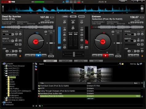virtualdj: a free virtual dj software for windows pc