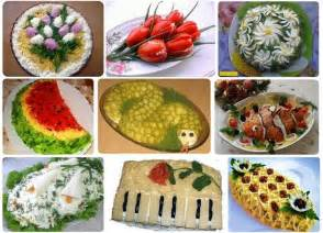 salad decoration at home decoration salads and ideas on