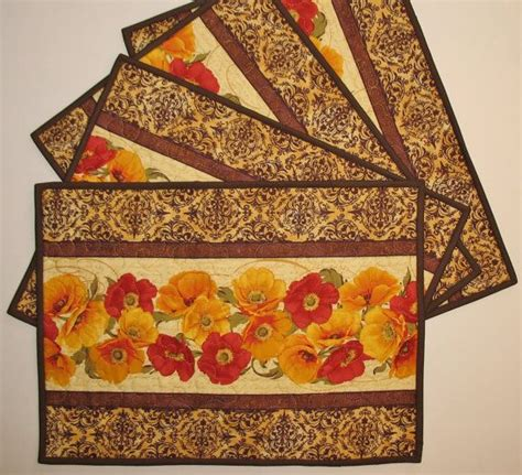 32 best images about quilted place mats on