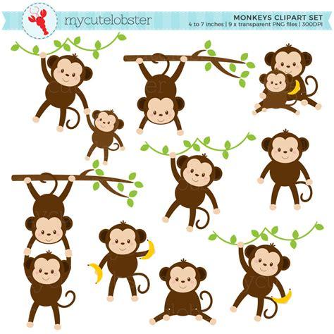 clipart of monkeys safari clipart monkey pencil and in color safari clipart