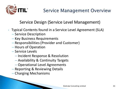 itil service level agreement template service level agreement template service level