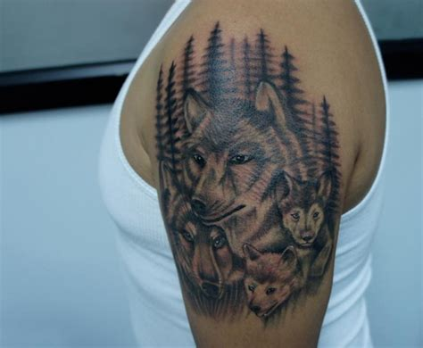 wolf family tattoo designs 32 wolf designs ideas design trends premium