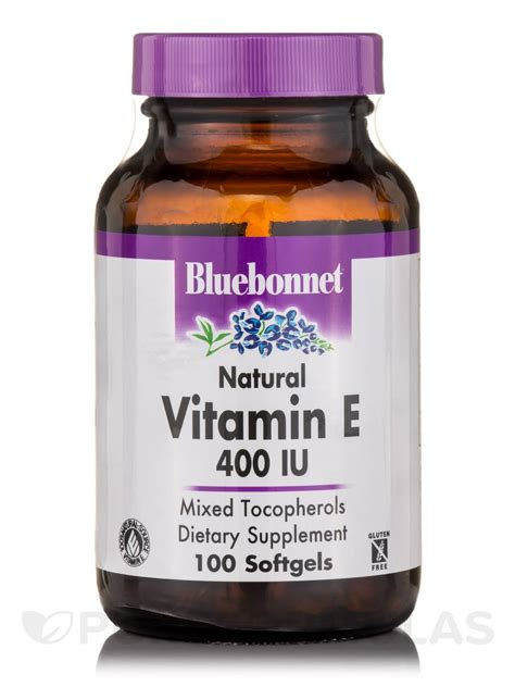 Vitamin Nourish E 400 Iu vitamin e 400 iu 100 softgels