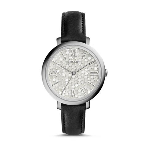 fossil cb5 leather black jacqueline black leather fossil