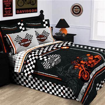 harley davidson queen size comforter collection harley davidson racing flag