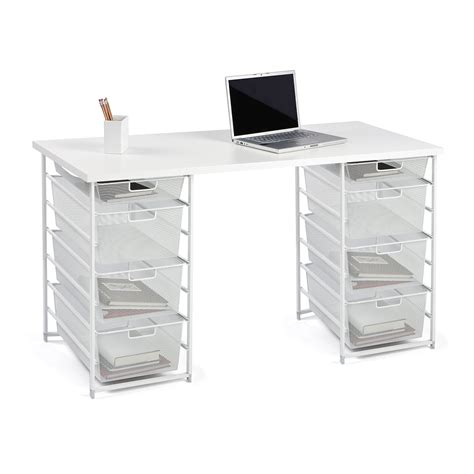the container store desk custom desk design your own customized desk the