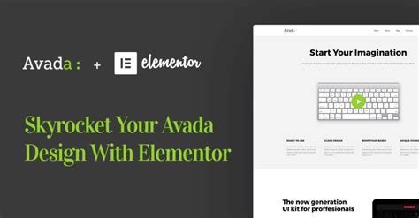 avada theme news page blog elementor