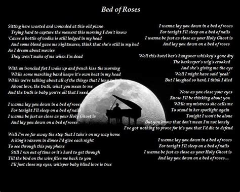 bed of roses lyrics quot bed of roses quot by hinder autumn shadows