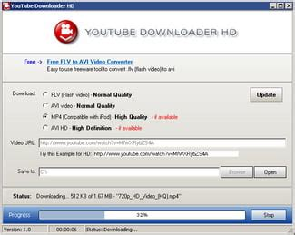 download the latest version of youtube downloader hd free