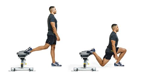 double bodyweight bench bulgarian split squat instructions form tips and