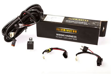 adventure illuminator led light bar wiring harness