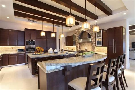 Contemporary Kitchen Islands 30 custom luxury kitchen designs that cost more than 100 000