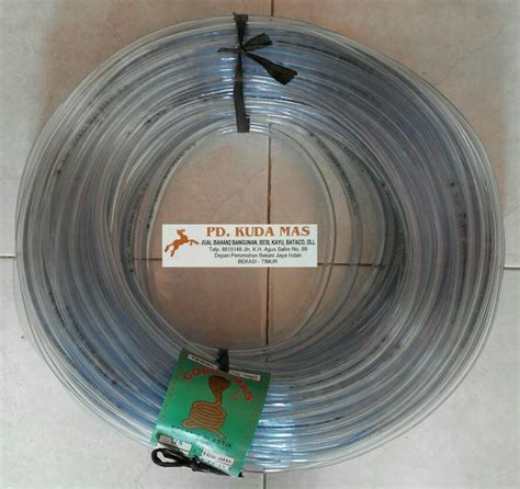 Selang Cobra jual selang waterpass tebal cobra 1 4 quot per 1 meter pd