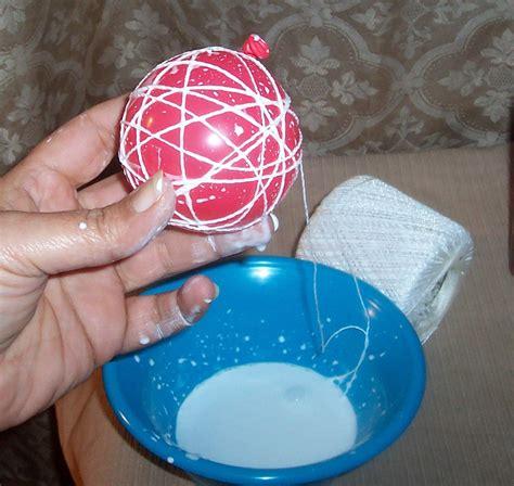 Balloon String - string balloons snowmen ideas