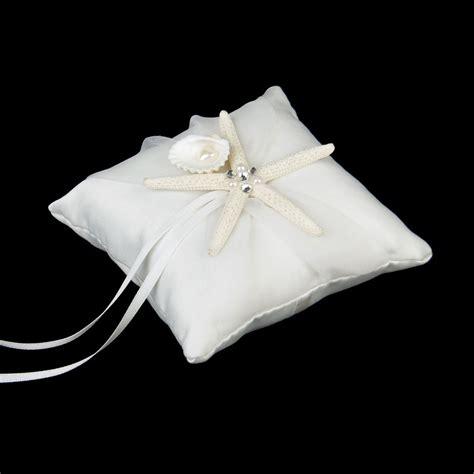 Starfish Ring Bearer Pillow by 10 10cm Wedding Ring Bearer Pillow Starfish Shell