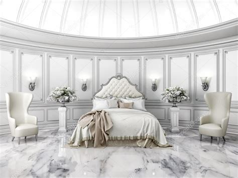 interni camere da letto interni di stile classico rotondo da letto in villa