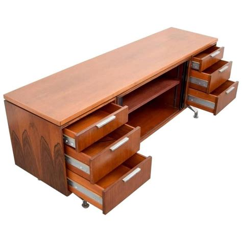 imperial desk company rosewood credenza 1960s usa for