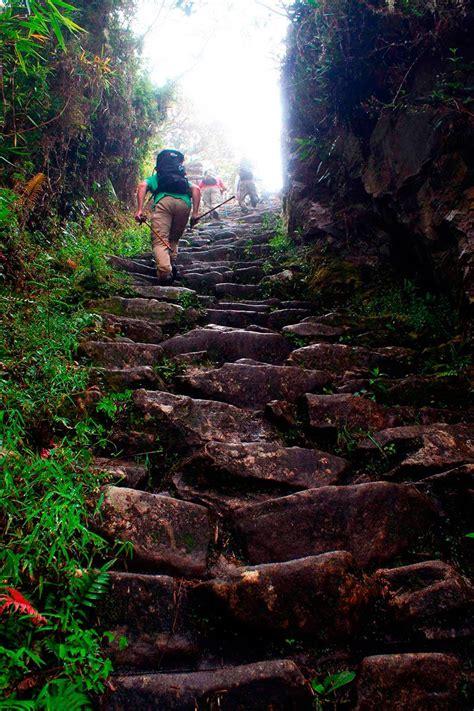 camino inca camino inca a machu picchu peru salkantay trek e inca