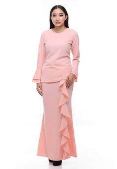 Set Rina Glw Setelan Kebaya Muslim Set Baju Batik Wanita paradise kurung modern from rina nichie in pink paradise kurung modern by rina nichie featured
