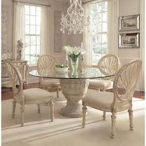 Schnadig Dining Room Furniture by Schnadig Empire Ii 5 Piece Round Table Dining Set Stoney