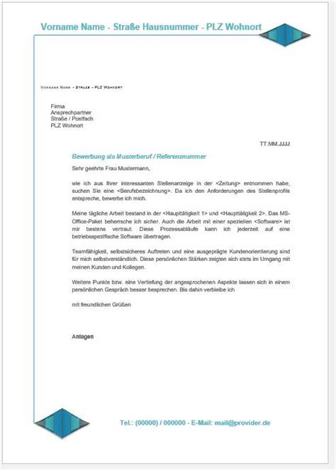 Bewerbungsschreiben Jobbörse Bewerbung Anschreiben Vorlage
