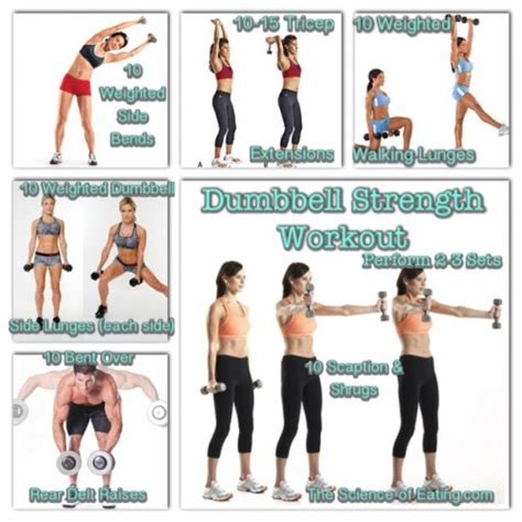 dumbbell strength workout
