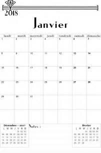 calendrier 2017 2018 mensuel 224 imprimer gratuitement