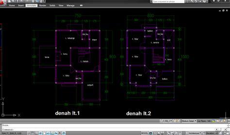 membuat gambar 3d autocad 2009 tutorial desain rumah dengan autocad 2010 rumah zee